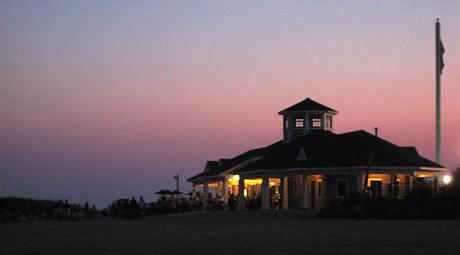 Venetian Shores Park And The Beach Hut In Lindenhurst Ny